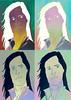Warholed me (Ex-Grungy Student) Tags: selfportrait me photoshop 4x4 image photoshopped manipulation pop popart warhol imagemanipulation popimage