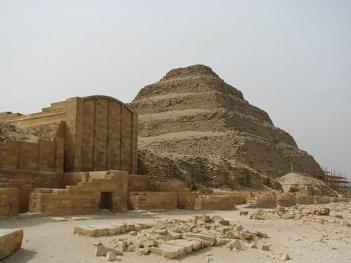 Saqqura pyramids