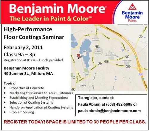 For Contractors: Floor Coating Seminar