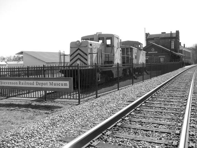 Stevenson, AL Train Depot from the front