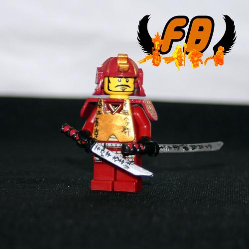 Custom minifig Samurai Kureigu Shoon custom lego minifigure.