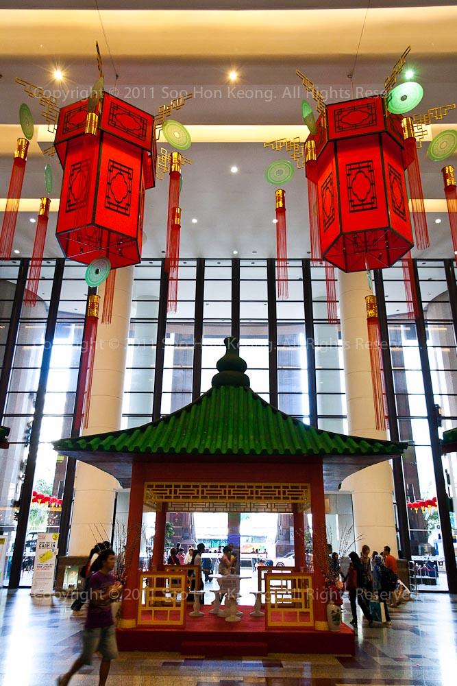 CNY decor @ Berjaya Times Square, KL, Malaysia