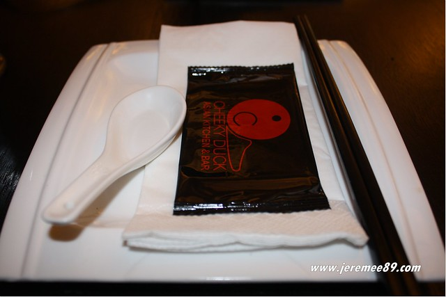 Cheeky Duck Asian Kitchen & Bar @ Straits Quay - Crispy Aromatic Duck - Setting 2