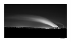 Rugeley Power Station (Mike. Spriggs) Tags: longexposure cloud night staffordshire coolingtowers rugeley pyrocumulus rugeleypowerstation