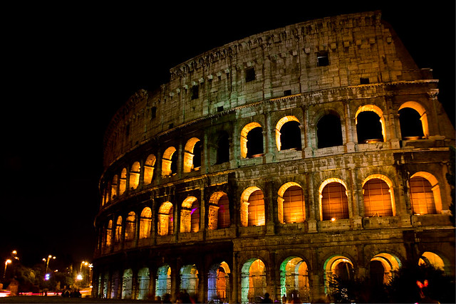 Rome by Night - The Roman Coliseum