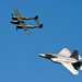 F-22 Raptor and P-38 Heritage