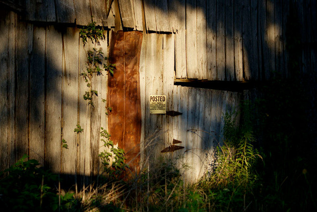 Old barn Doorway
