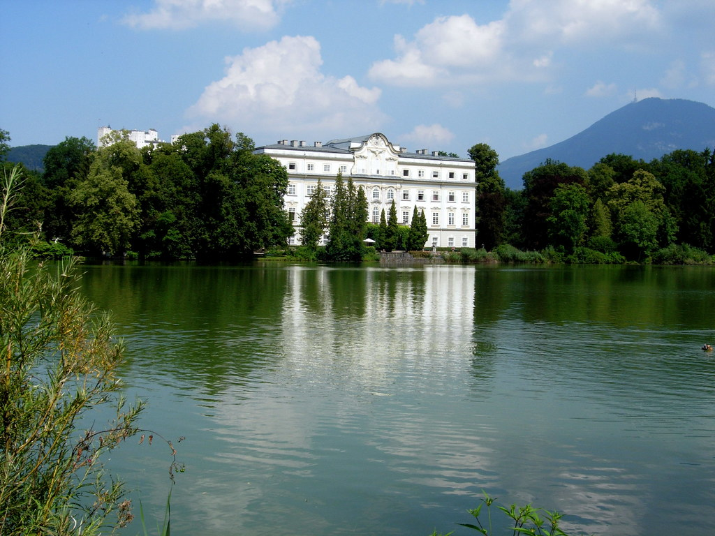 "Von Trapp home on ""Sound of Music"""