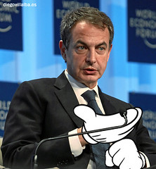 themickeymousehands Jose Luis Rodriguez Zapatero (Diego Villalba) Tags: jose luis rodriguez zapatero themickeymousehands