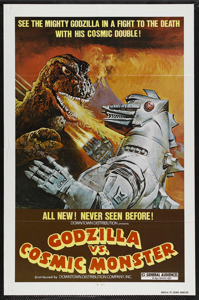 Godzilla vs. Mechagodzilla (Downtown Distribution, R-1978)