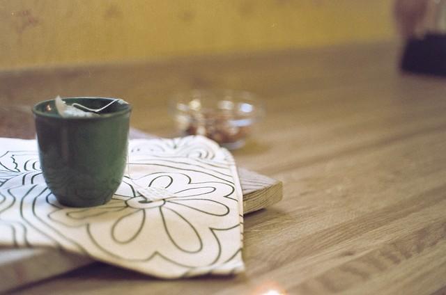 tea.  film.
