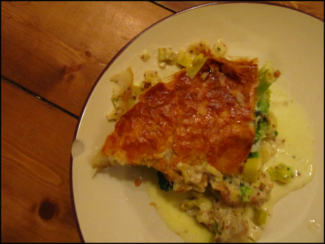 broccoli and gorgonzola pie