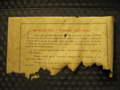 "Remington ""World Service"""