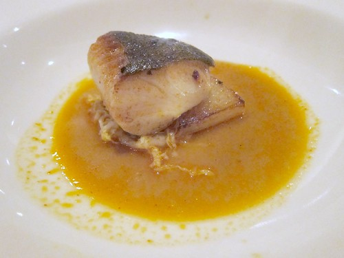 Butterfish with Kimchi Broth