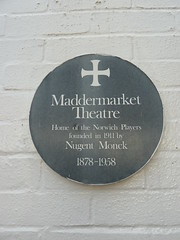 Photo of William Nugent Blight Monck green plaque