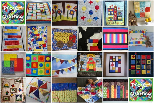 Season 2, Challenge 1 - Primary Colors - Project QUILTING Entries