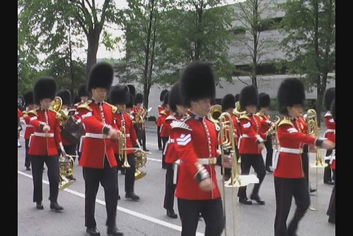 Marching Guards in Ottawa