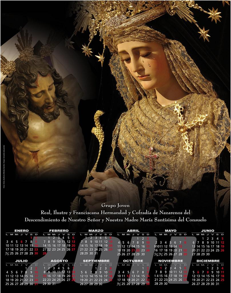 Calendario 2011 Grupo Joven Hermandad del Silencio