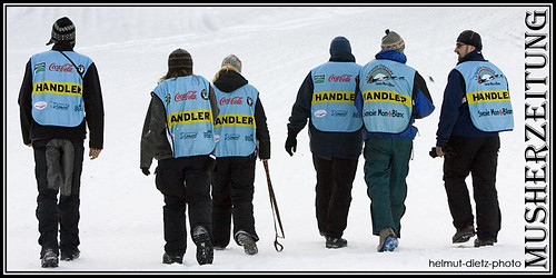 La Grande Odyssee Dog Handlers' Backside: JOB DONE!