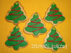 Sugar Cookies - Christmas Tree