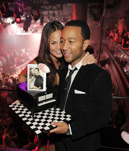 john legend birthday party pictures