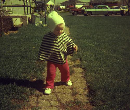 poncho, spring 1973