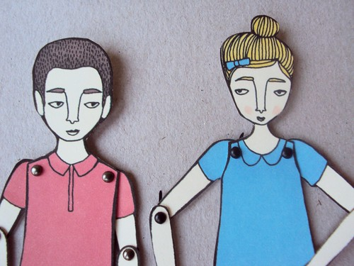 Jordan Grace's Art Dolls