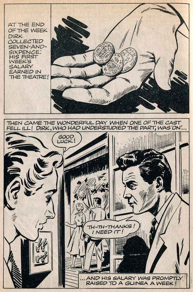 Dirk Bogarde comic 3