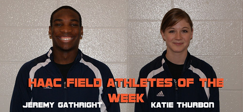 Field Athletes of the Week