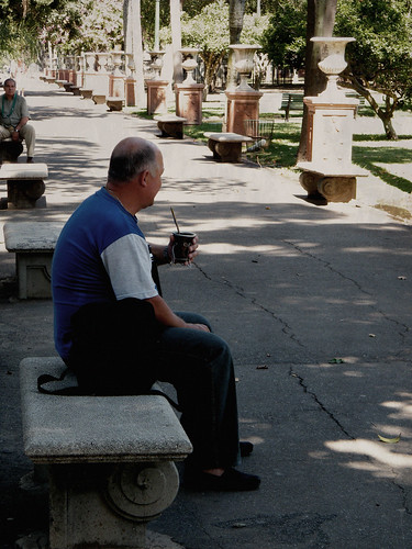 Drinking Mate in Parque Lezama, San Telmo, Buenos Aires, Argentina by katiemetz, on Flickr
