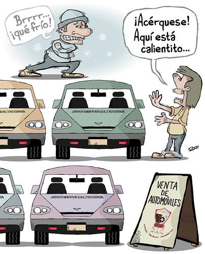 Irregularidades sobre ruedas