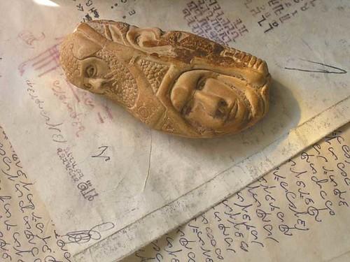 Bulb Vase Still Life, Detail 1