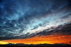 sunset west of salt lake city jan 20 2011 2 (houstonryan) Tags: city sunset 2 lake west color art clouds print photography utah colorful photographer shot jan ryan vibrant salt houston vivid sunsets card photograph 20 2011 utahn houstonryan