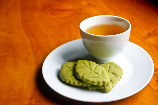 Cookie de chá verde by Yuri Hayashi, on Flickr