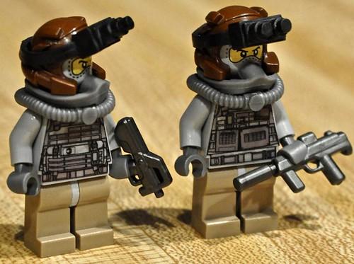 Custom minifig Spec Ops. custom minifig
