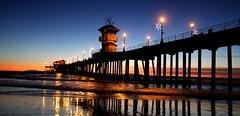 Salvaging the precious light! (The pankazz) Tags: sunset pier huntingtonbeach