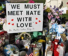 We must meet hate with love