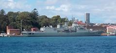 H.M.A.S. Stuart 153 (Hear and Their) Tags: nsw harbour harbor australia hmas stuart sydney
