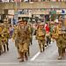 World War I Re-enactors. Brisbane ANZAC Day Parade 2012