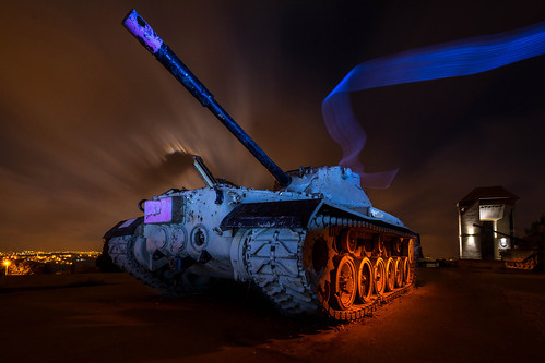 Re-Painting the Tank with Light
