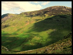 Lakeland fell. (A tramp in the hills) Tags: lakeland fell cumbria