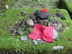 The 89th Jizo (seikinsou) Tags: japan nikko autumn kanmangafuchi gorge abyss daiyagawa river jizo 89 align