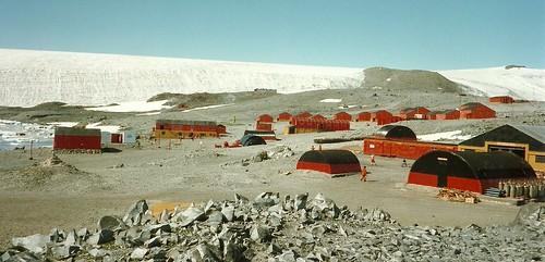 Hope Bay Argentinische Forschungstation Esperanza Antarktis