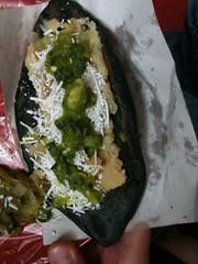 Tlacoyo de frijol con papa (Adlercreutz) Tags: gourmet taco polanco tlacoyo frijol