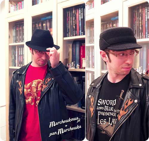 pan Marchewka, kapelusze, czapki, czapnik, modystka, Dziki Zachód, Wil Wheaton, Jinx, TeeFury, koszulki, rosomak, ramoneska