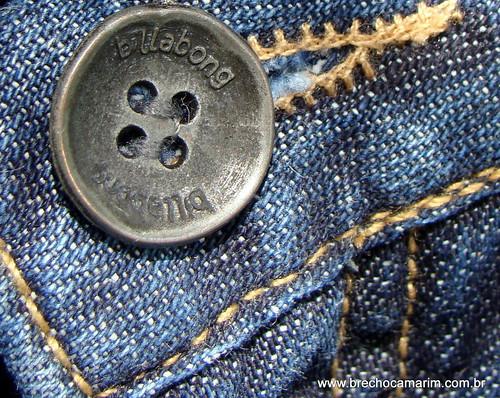 botão Billabong
