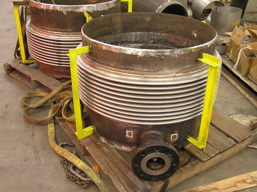 5 Expansion Joints for a Heat Exchanger Company in Japan