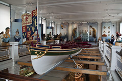 Nelson Funeral Barge - Copyright R.Weal 2010