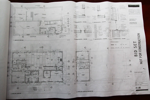 Bid Set for DeBord house rehab - detailed floorplan