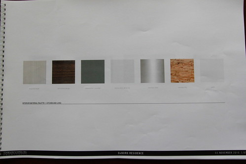 Color & Material Palette for DeBord House